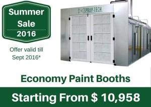 Summer Sale - Economy Automotive Booths