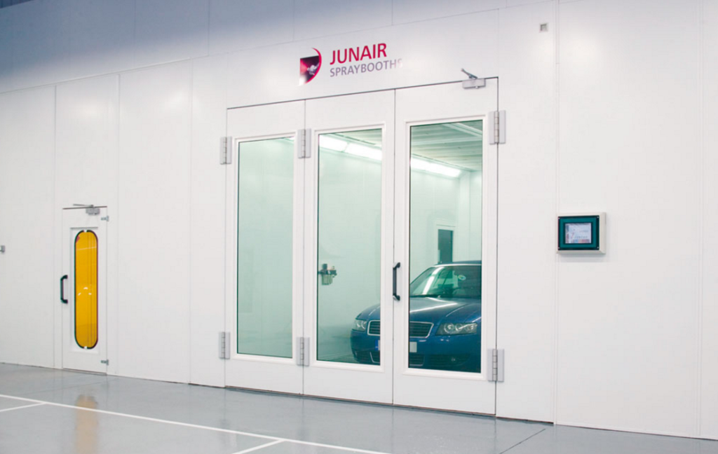 The Junair Series Automotive Paint Booth