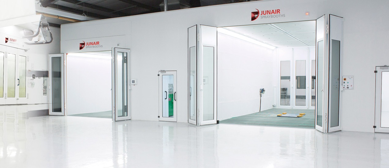 Get updated on the most advanced spray booth information in the industry