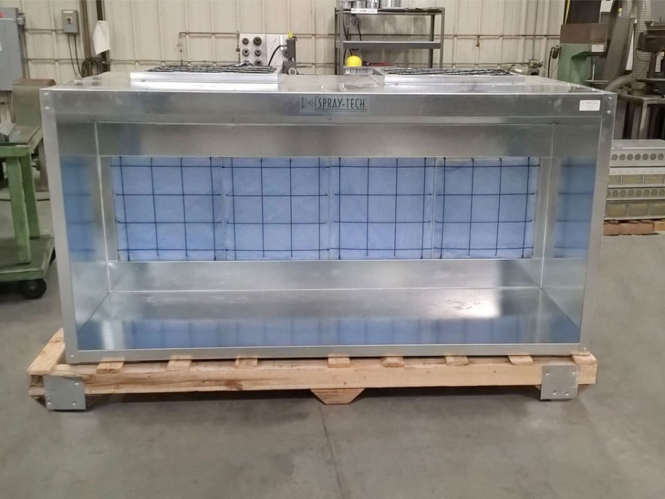 Portable Paint Booth >> Small Paint Booth | Self Contained - Table Top Size