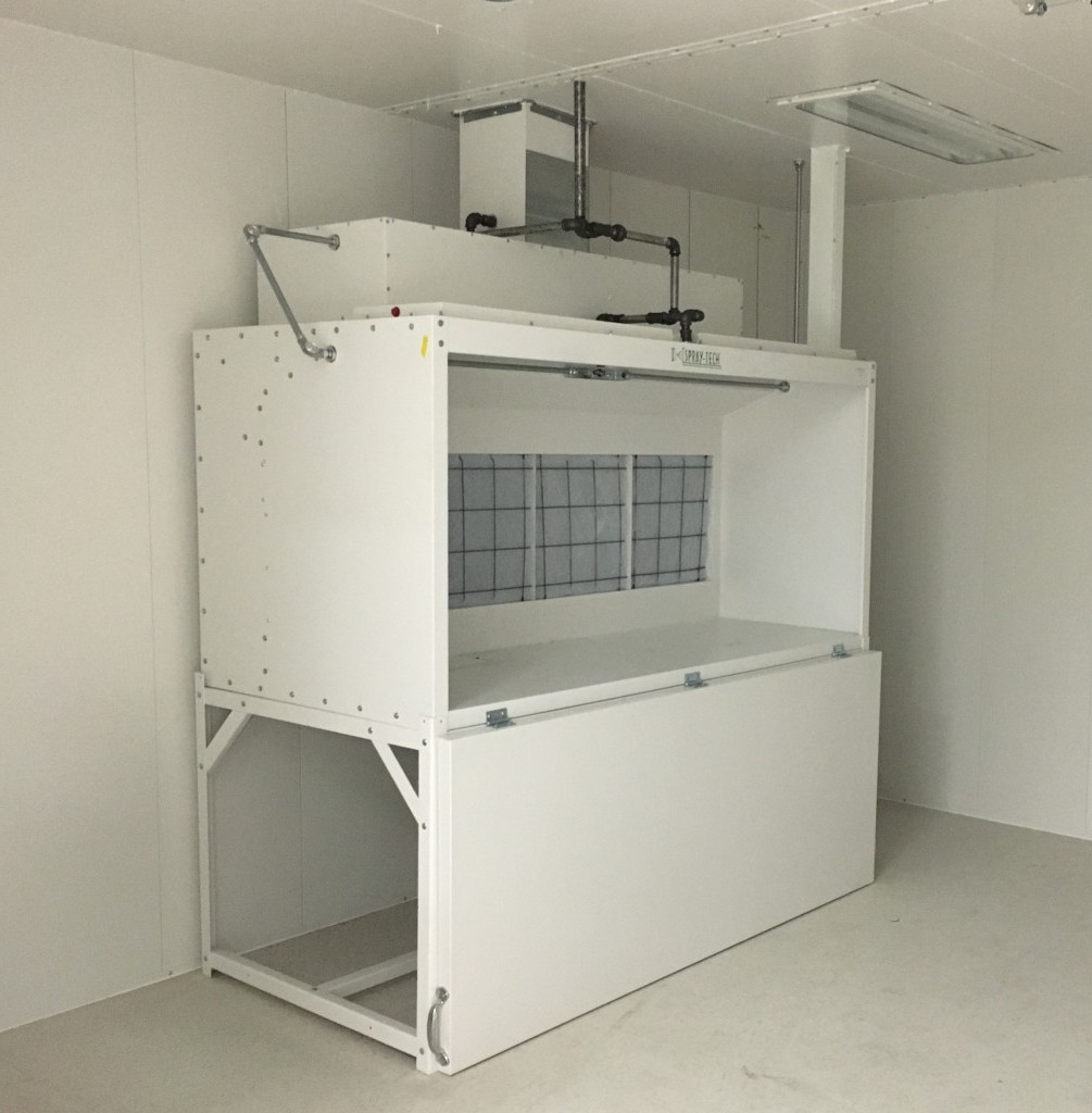 Table Top Spray Booth