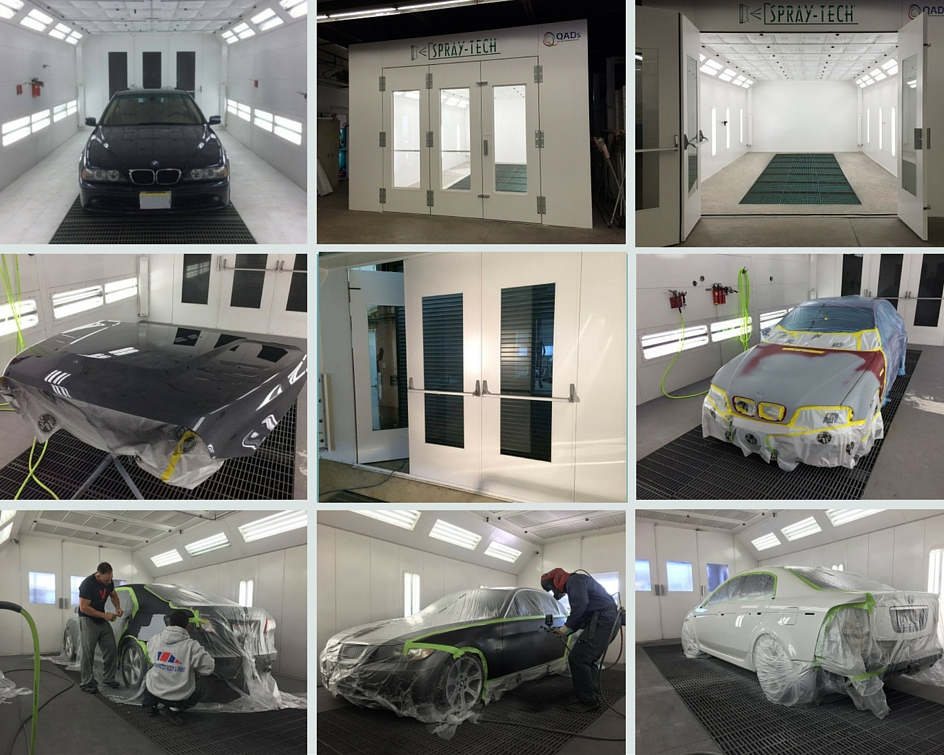 Advanced Collision Repair | Long Lasting Booths