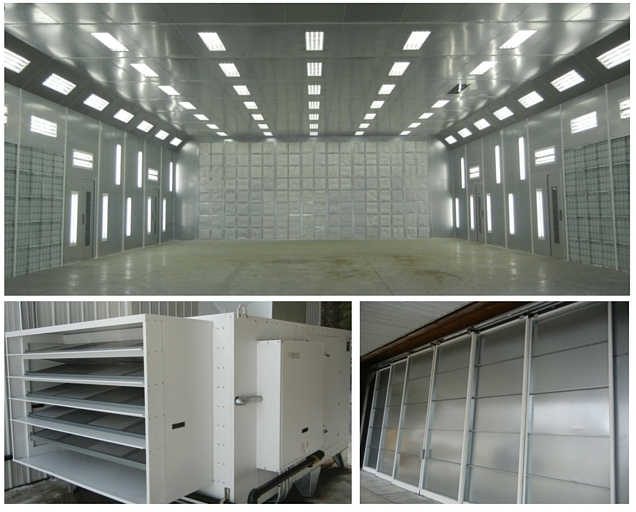 Industrial Paint Booth Oven