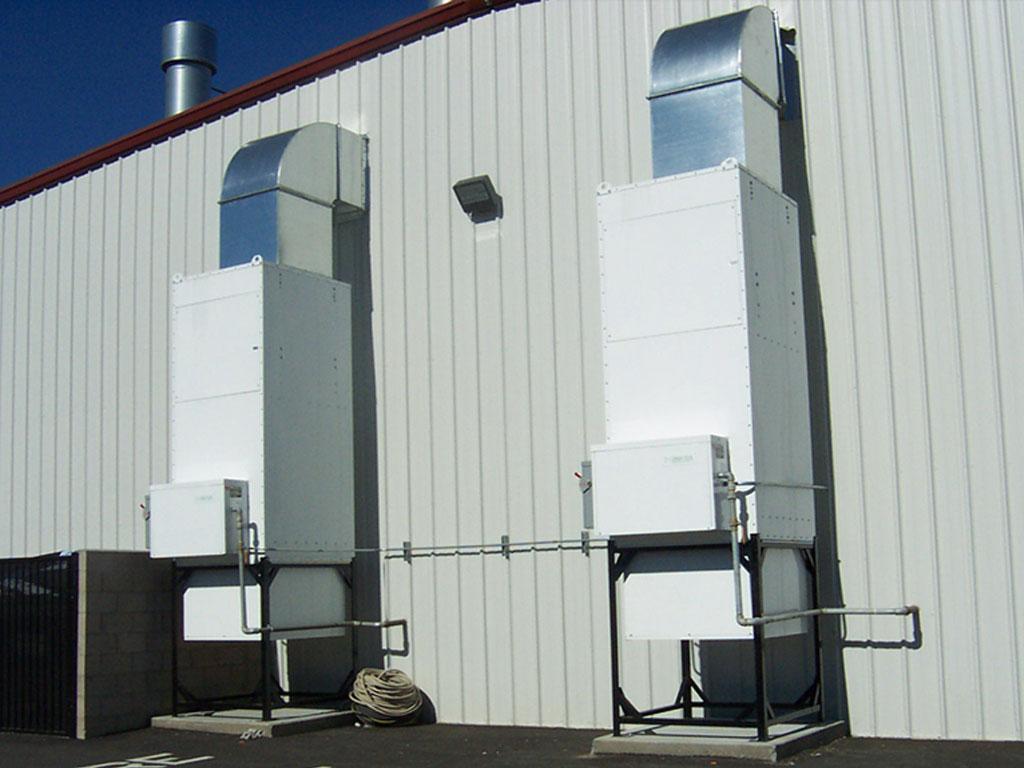 Air Makeup Unit Converting 98 Fuel