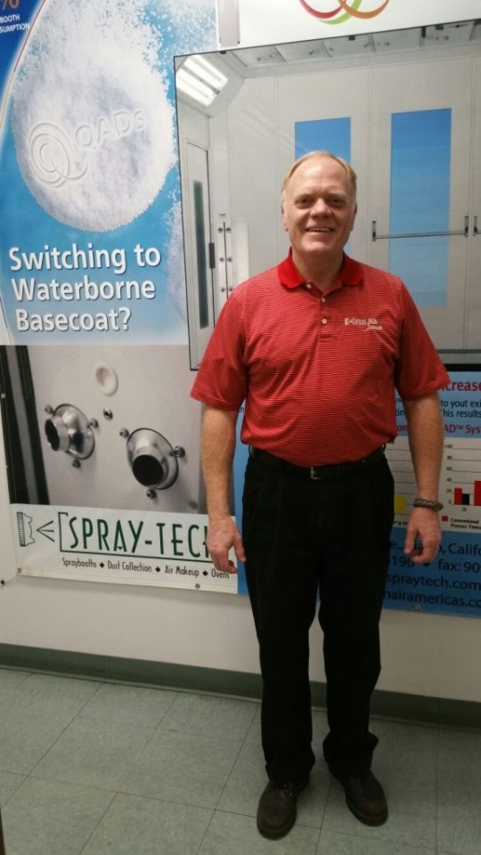NFPA Committee Member - Mr. John Jurassic |Employee Spray Tech / Junair