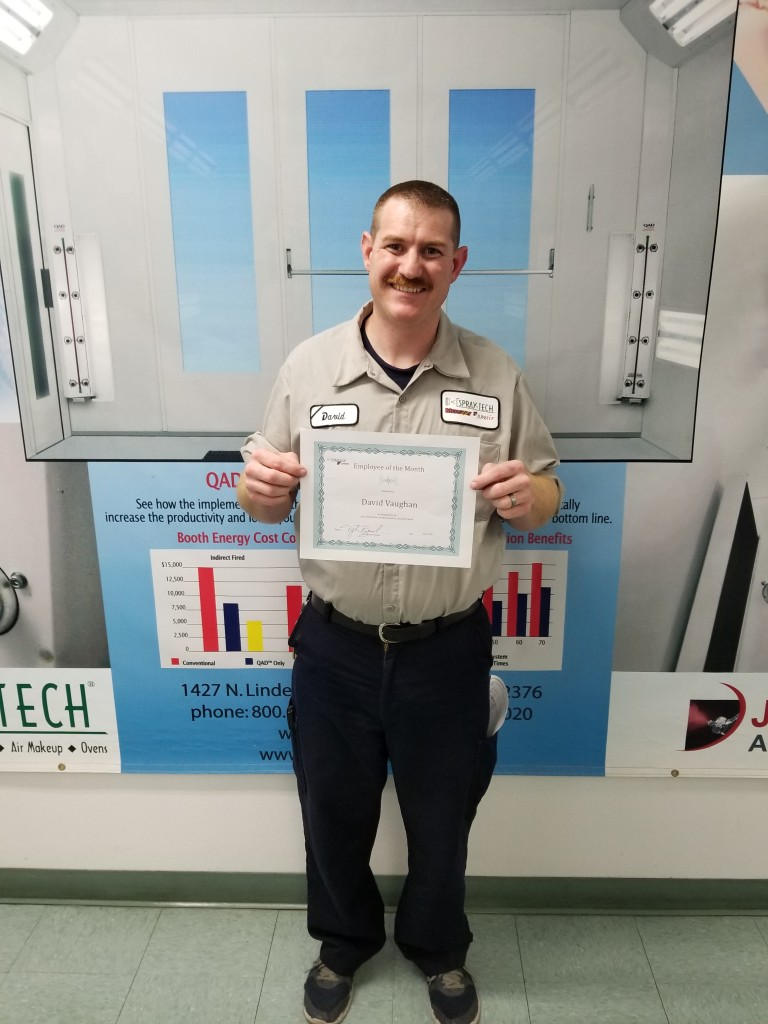 David  Employee of the Month For June 2017